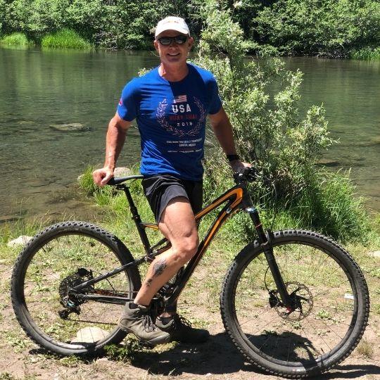 Jack Kautz - Training Ride - Lake Tahoe, California