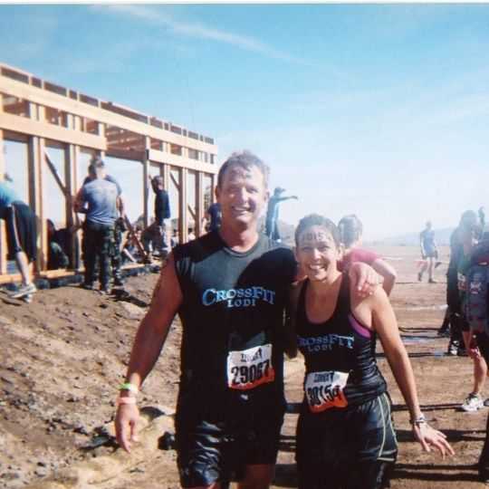 Jack Kautz of Lodi California and Sarah mud run