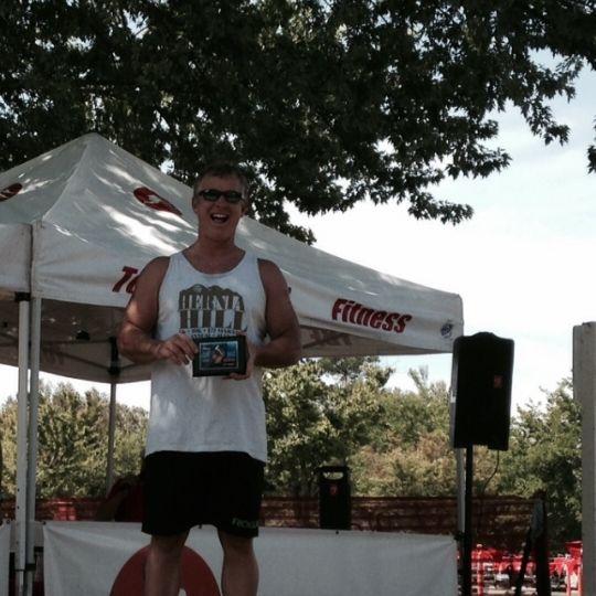 Jack Kautz - podium Ranch Seco Triathlon