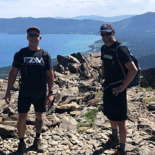 Jack Kautz - Rich Hansen Mt. Tallac - Tahoe, California
